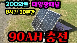200와트 접이식태양광패널, DOKIO태양광패널, PW…