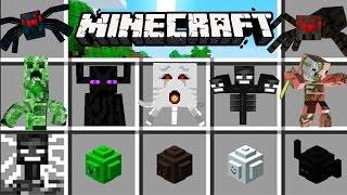 Minecraft - TITANES MOD - Creeper MUTANTE, Enderman con cuernos y más!!