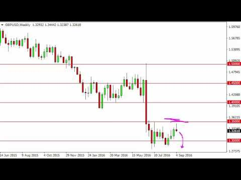 GBP/USD Forecast for the week of September 12 2016, Technical Analysis