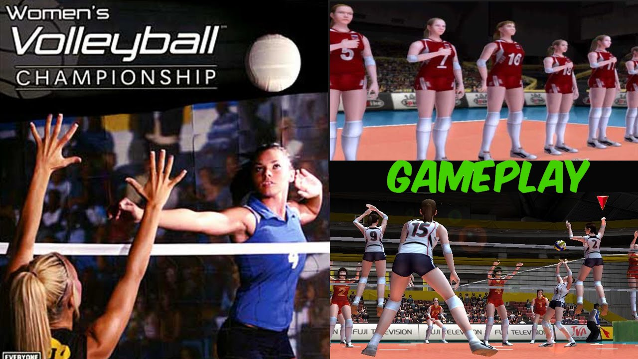 Women S Volleyball Championship Gameplay Ps2 Hd Youtube