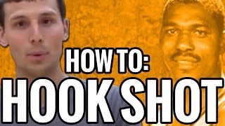Basketball moves for low post players: how to hook shot | hakeem olajuwon