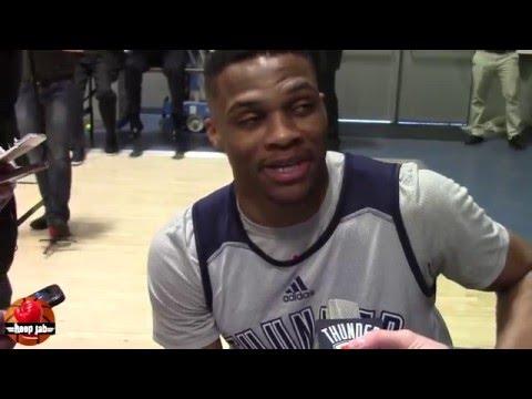 Russell Westbrook on talking trash to Kobe...