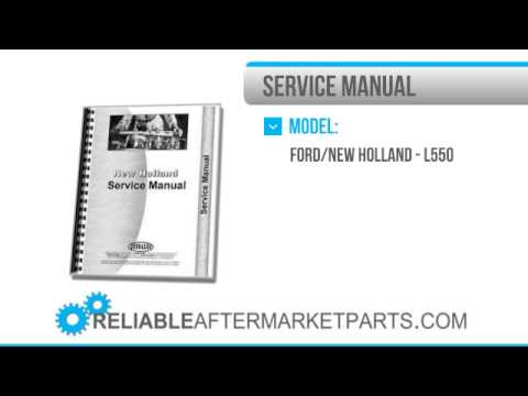 2058 New Holland L550 L555 Skid Steer Chis Service Manual New Holland L Skid Steer Wiring Diagram on