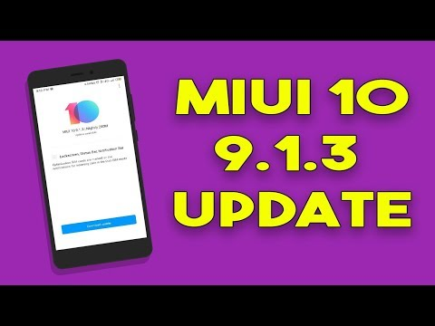 MIUI 10 9.1.3 New Beta Update for Redmi Note 5 Pro