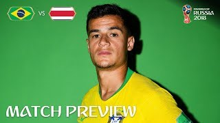 Philippe Coutinho (Brazil) - Match 25 Preview - 2018 FIFA World Cup™