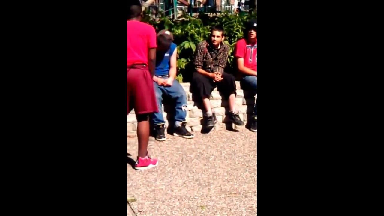 Ghetto boy fights