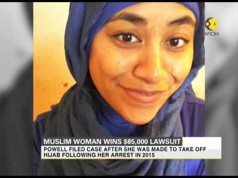 America: Muslim Woman wins $85,000 lawsuit