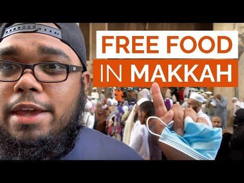FREE Food in Makkah!