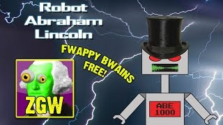 fwappy bwains is basically flappy bird robot abraham lincoln