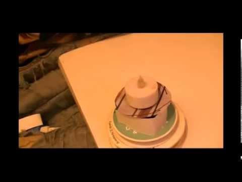 DIY- Paper Birthday Cake