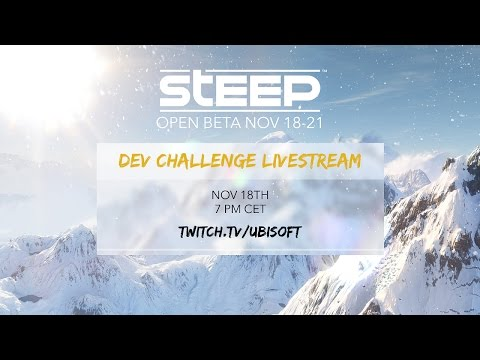 Steep Dev Live Stream #1 @Ubisoft Annecy