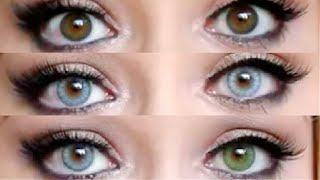 =REVIEW= Desio Contact lenses for Dark eyes! Thumbnail