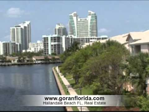 Hallandale Beach FL, Intracoastal Waterway, Three Islands & Beach