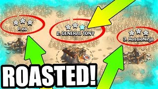 WE ALL GOT CRUSHED! - Clash Of Clans - HOW DID THIS HAPPEN!?