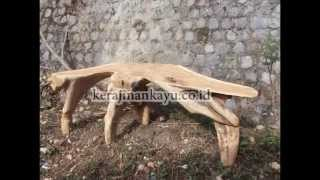 Teak Root Furniture | Teak Root Garden Bench |