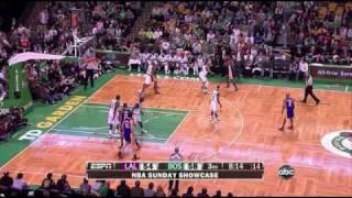 Lakers 90 @ Celtics 89 | Kobe game-winner over Ray Allen | 01-31-10