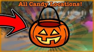 Trick Or Treat All Candy Locations Halloween (Club Penguin Rewritten)