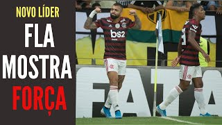 Fortaleza e Vasco ajudam o Flamengo a se tornar o novo líder do Brasileiro