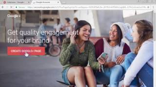 How to Create Google Plus Brand Page