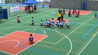 2014新界西區中學閃避球錦標賽 中學男子組 上半場 東華三