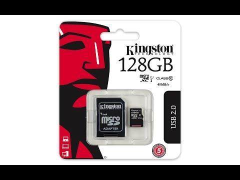 Флешка Kingston на 128 GB Я лоханулся