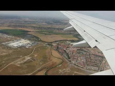ᴴᴰ✈RYANAIR Full Flight✈London Stansted To Madrid Barajas✈B737-800