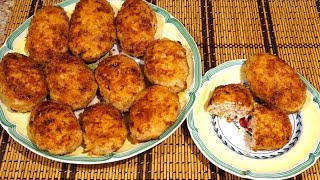 Пожарские котлеты, воспетые Пушкиным/_Famous Russian dish-pozharsky cutlets