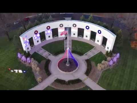 Memorial Park Omaha NE Thanks Giving Day DJI Mavic Pro 2 Video