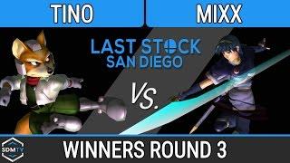 lssd 89 b2s tino fox vs mixx marth ssbm wr3 smash melee