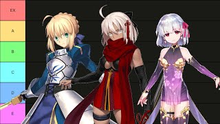 Fate/Grand Order – 5 Star Servant Tier List 2021