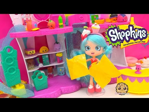 Shopkins Shoppies Doll Jessicake Unboxing Season 3 12 Pack While Shopping At Fashion Boutique