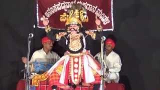 Yakshagana: Kondadakuli Ramachandra Hegade as Salva  In Bheeshma Vijaya