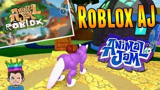 Let's Play Animal Jam Games on Roblox