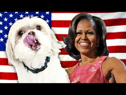 MICHELLE OBAMA'S TALKING DOG