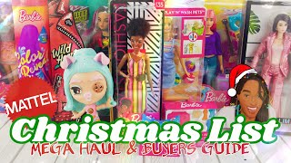 Unbox Daily: Mattel Christmas List MEGA HAUL & Buyers Guide