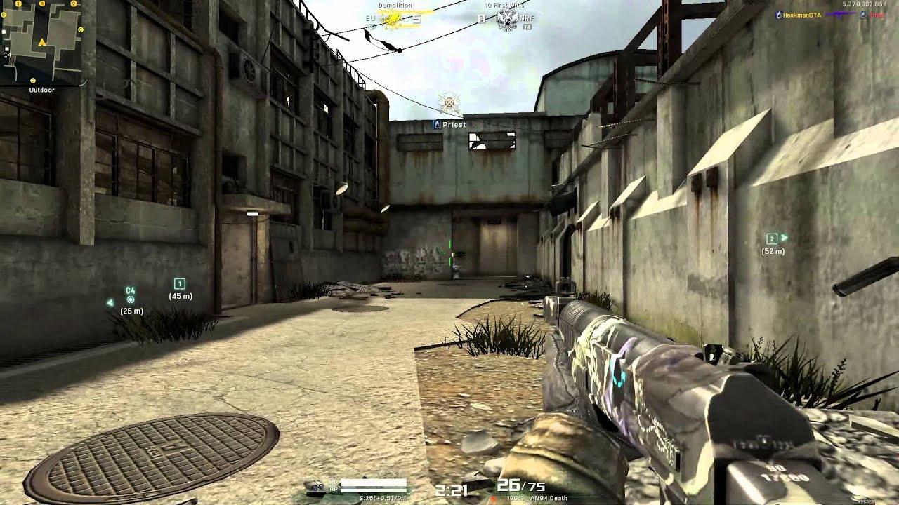 Alliance of Valiant Arms – AvA Gameplay – Death pack DLC Gun AN94 Death