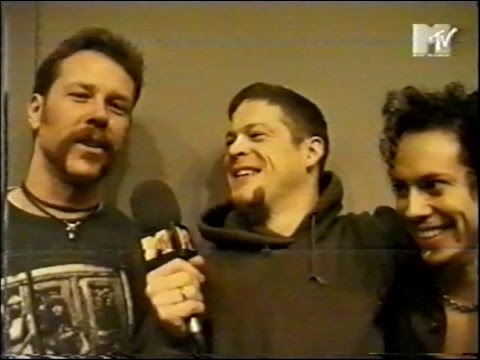 Metallica - MTV Europe Music Awards - Jason's Video Diary (1996) [TV Broadcast]