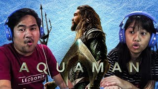 IRone Family React to Aquaman Official Teaser Trailer - Indonesia