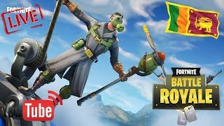 ! Free Items in Fortnite Live Stream in Sri Lanka By Nirmal