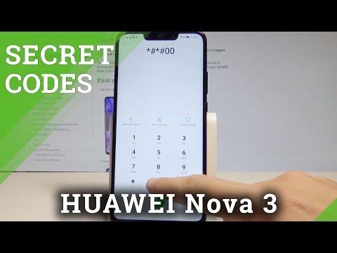 Secret Codes HUAWEI Nova 3 - Hidden Mode / Advanced Options / Tricks |HardReset.Info