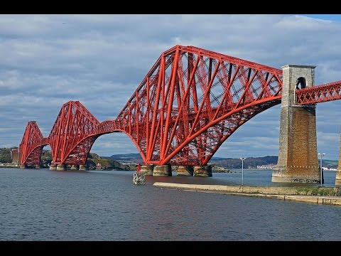 The Great Forth Rail Bridge, Scotland