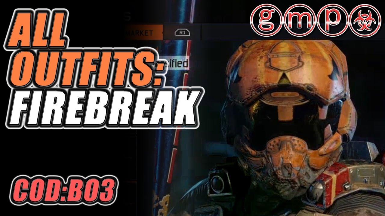 5ff0322ba95 ALL Black Market OUTFITS !! - Firebreak (9 of 9) | CoD:BO3 CONTRABAND(OCT  '16)