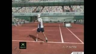 Top Spin Xbox Trailer - Top Spin Trailer