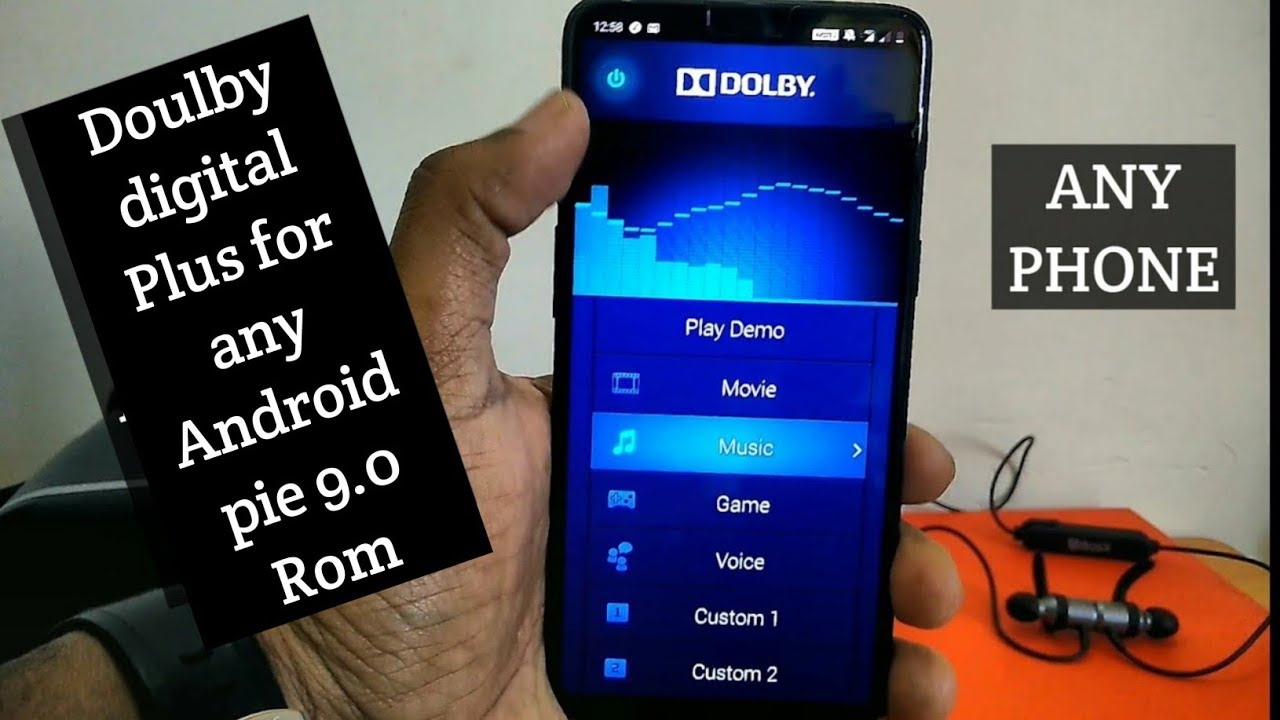 Dolby digital plus For Any Android Pie 9 0 Roms | For Any Device