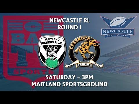 2018 Newcastle RL Round 1 - Maitland Pumpkin Pickers v Cessnock Goannas