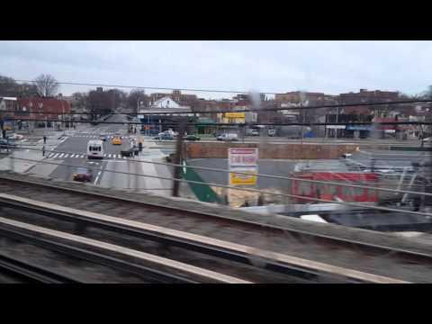 MTA LIRR: On board Penn Station bound M7 LIRR train from Jamaica to Penn Station(Weekend)