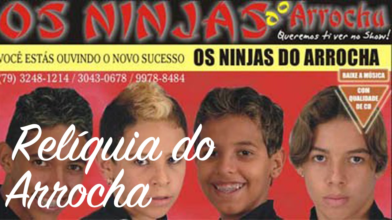 NINJAS CD BAIXAR DO ARROCHA O OS