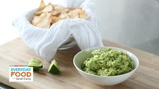 Spicy Guacamole Dip - Everyday Food With Sarah Carey