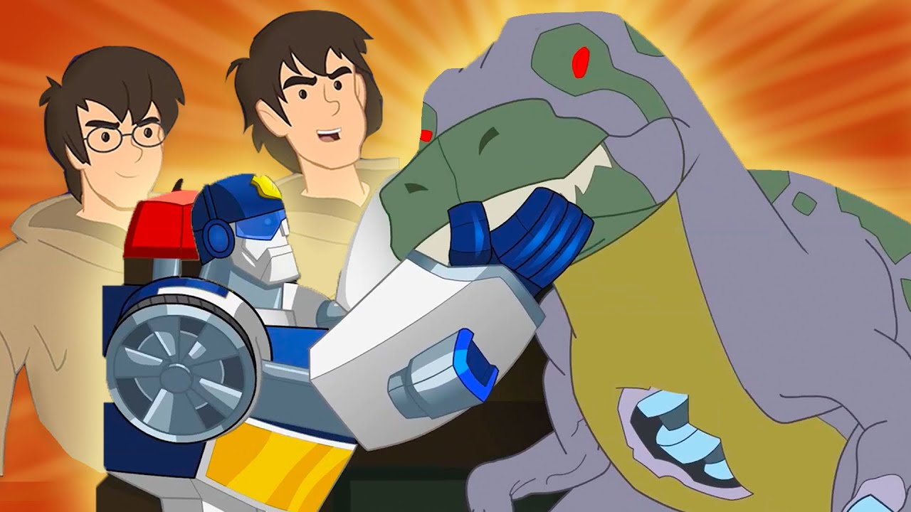 TWINS Bots and Robbers | Transformers Rescue Bots Full Episodes | Transformers Kids