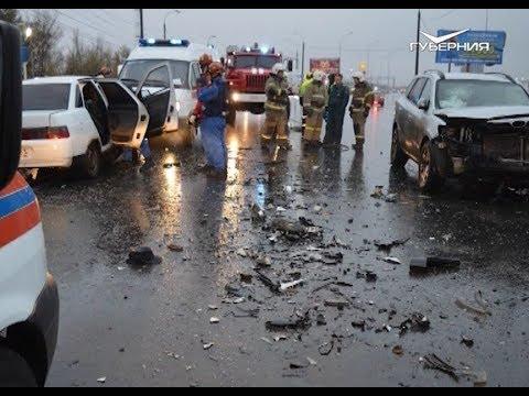 В Самаре на Южном шоссе произошло смертельное ДТП
